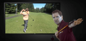 Slice setup golf swing